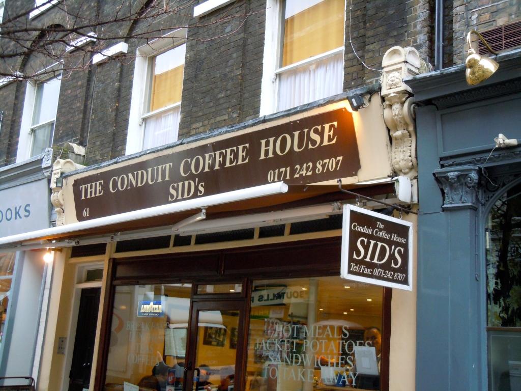 Resisting gentrification in Lamb's Conduit Street, Bloomsbury, London.