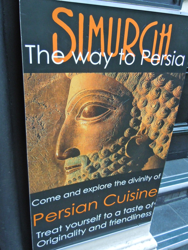 The divinity of Persian cuisine, Covent Garden, London.