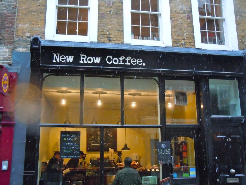 Hipster cafes spread westward.
