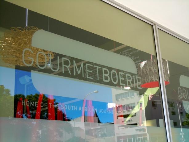 Gourmet Boerie in Kloof Street, Cape Town.