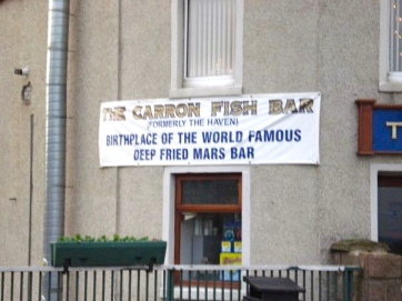 The (alleged) home of the deep-fried Mars bar, in Stonehaven.