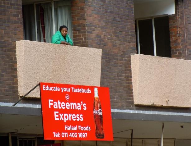 In Braamfontein.