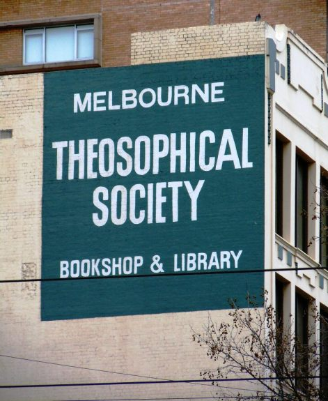 The Melbourne Theosophical Society.