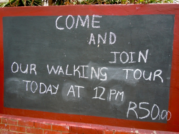 At the Sophiatown Heritage and Cultural Centre